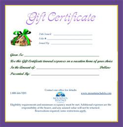gatlinburg vacation with gatlinburg cabin gift certificate