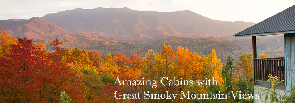 Kears cabins with breathtaking Mt. Leconte View