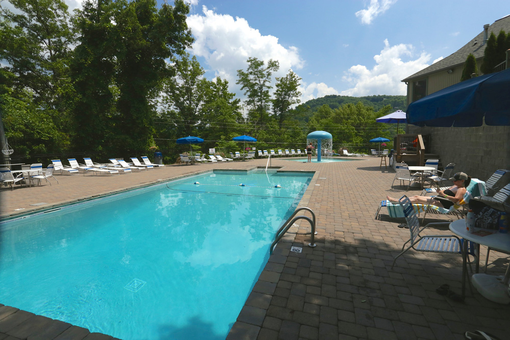 Chalet Village Clubhouses And Swimming Pools