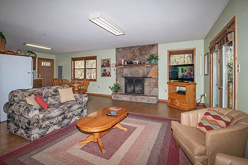 Valley View 1 In Gatlinburg Tennessee Living Room
