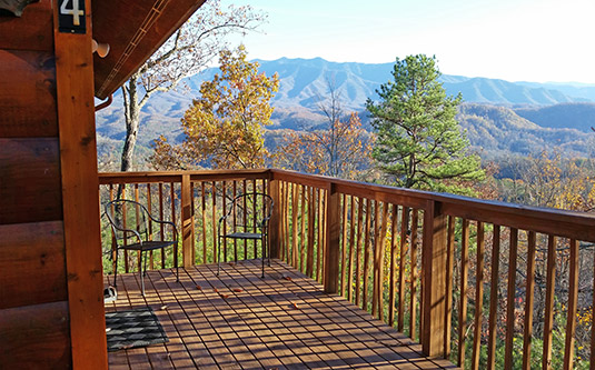 Honeymoon memories gatlinburg authentic log cabin in Best mountain view cabins in gatlinburg tn