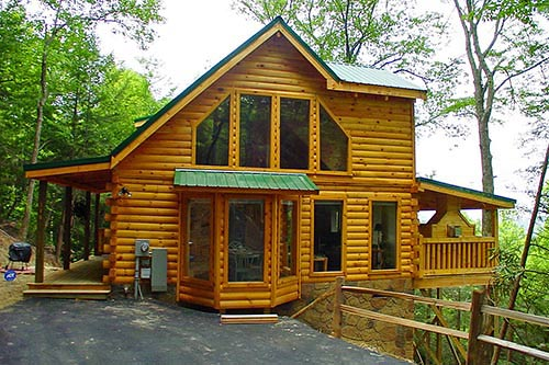 Away From Everyday Gatlinburg Log Cabin In Gatlinburg Tn