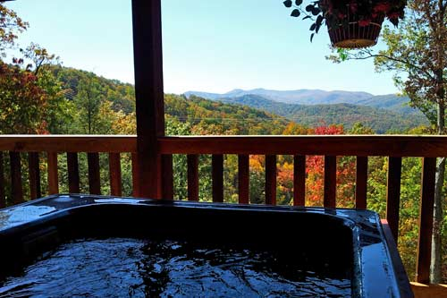 Sweet Surrender Log Cabin in Beech Branch, Gatlinburg