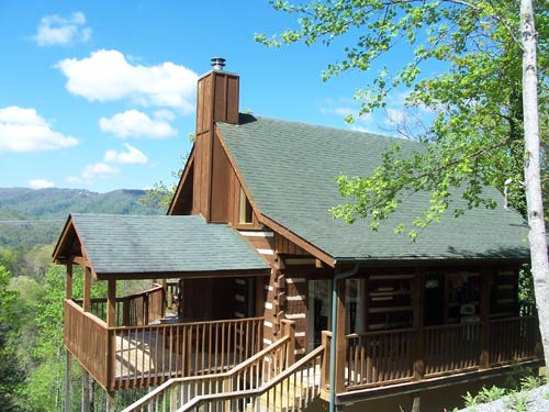 Gatlinburg Tennessee Cabins ~ Quot sweet surrender gatlinburg log cabin in tn