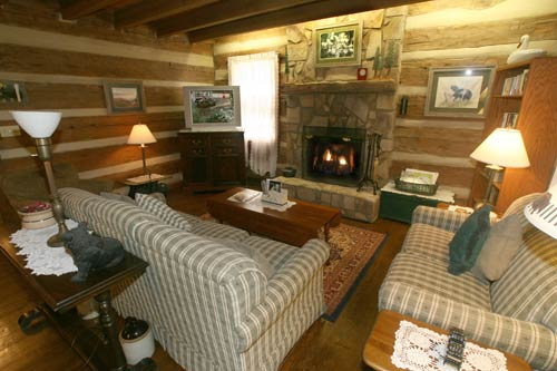 Dogwood Lodge Tr 3 In Gatlinburg Tennessee Living Room